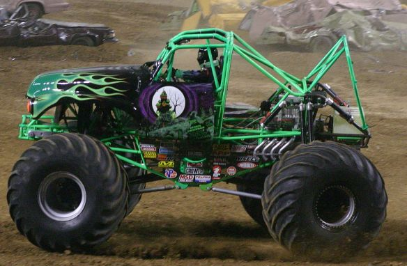 Monster Truck Grave Digger by Tammy Powers, used under CC-BY-SA license