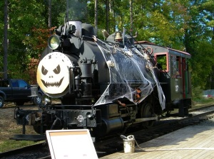 Haunted Steam Locomotive (c) New Hope valley Railroad